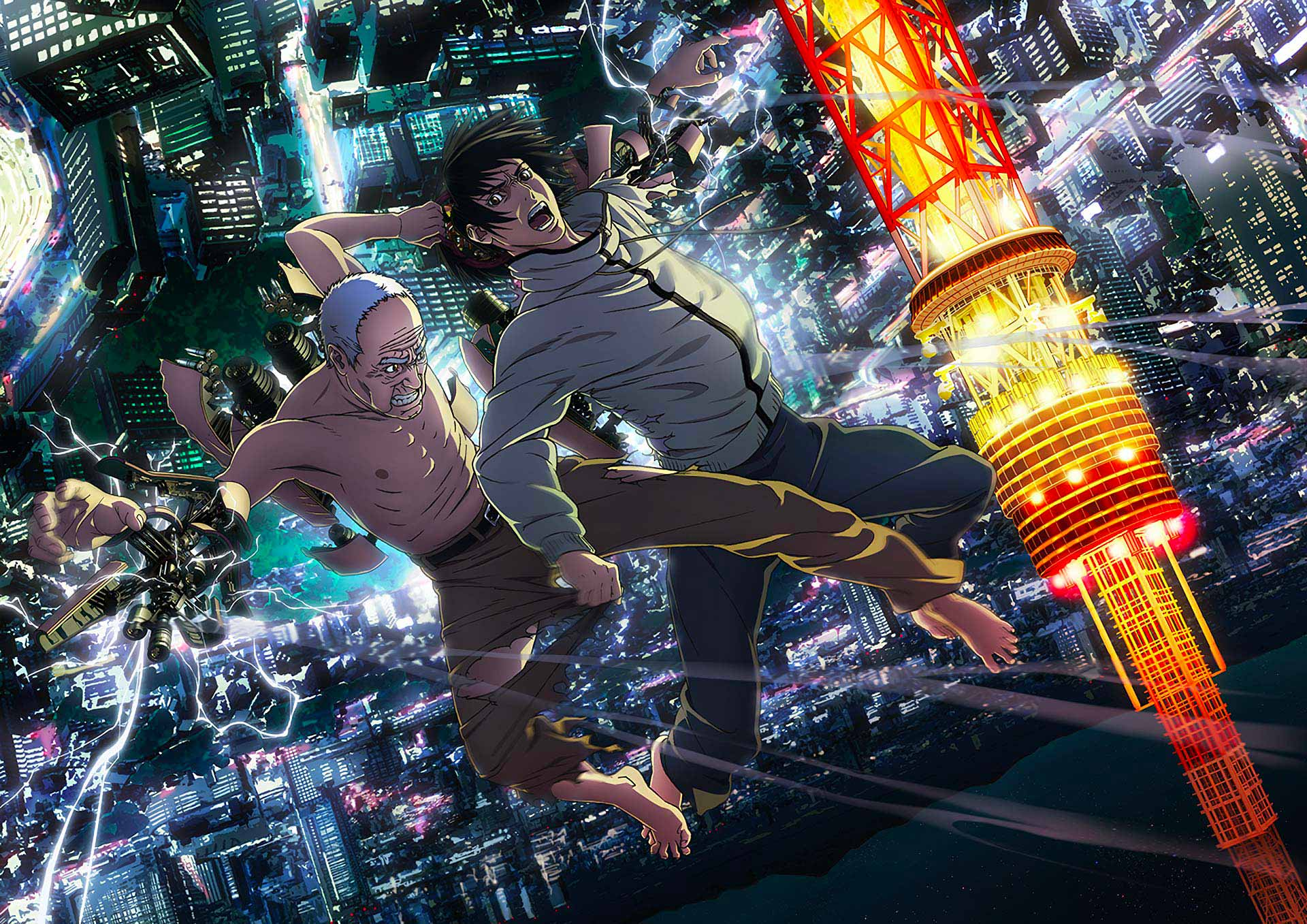 Last Hero Inuyashiki - Battle