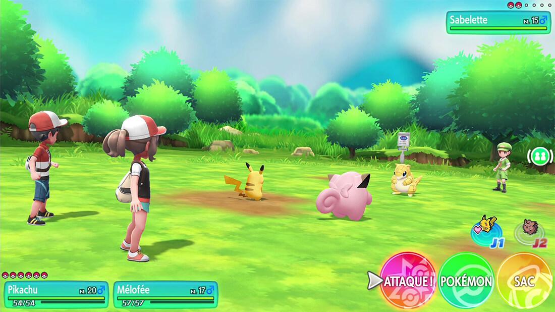 Pokémon let's Go - 2 joueurs