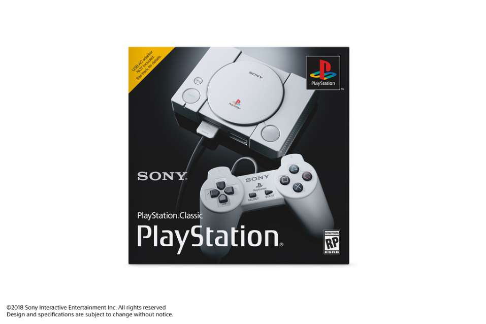 console-sony-playstation-classic-boite