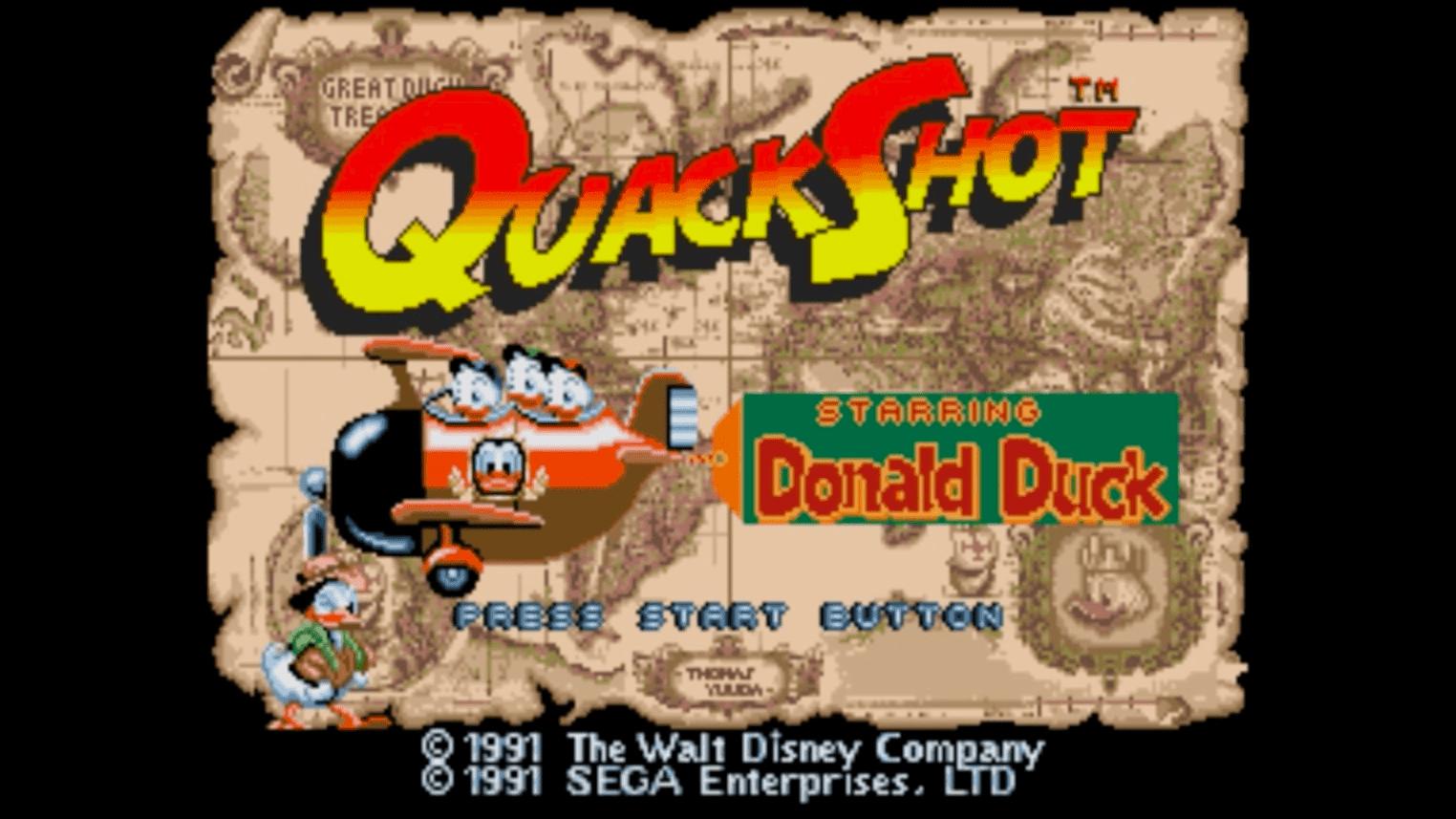 Quackshot - Intro