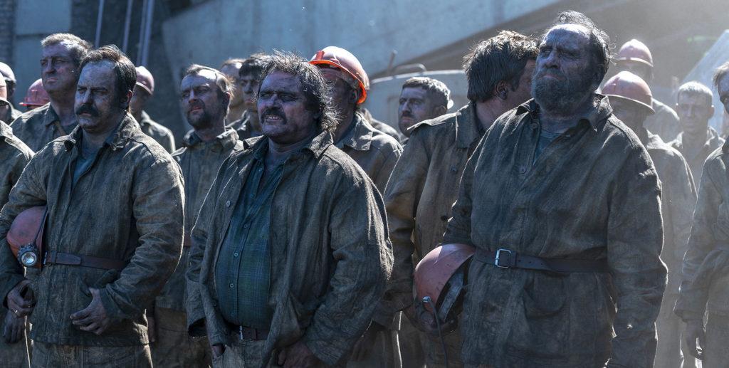 Chernobyl - Les mineurs qui doivent creuser sous le noyau en fusion