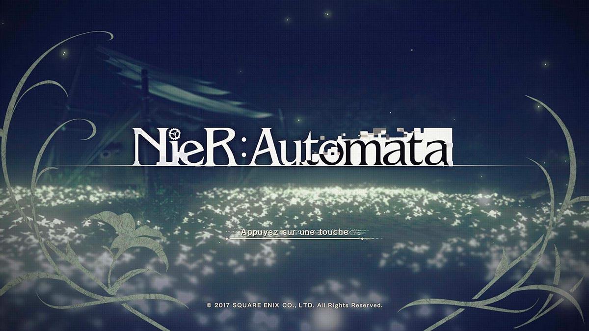 NieR Automata - Ecran titre